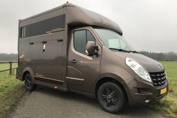 Renault Master SWT Goldline paardenvrachtwagen Hulshof Horsetrucks