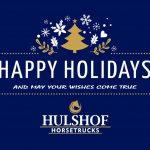 Fijne feestdagen Hulshof Horsetrucks