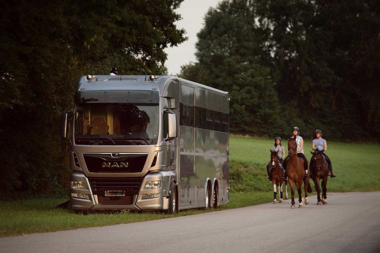 Pferdetransporter bauen