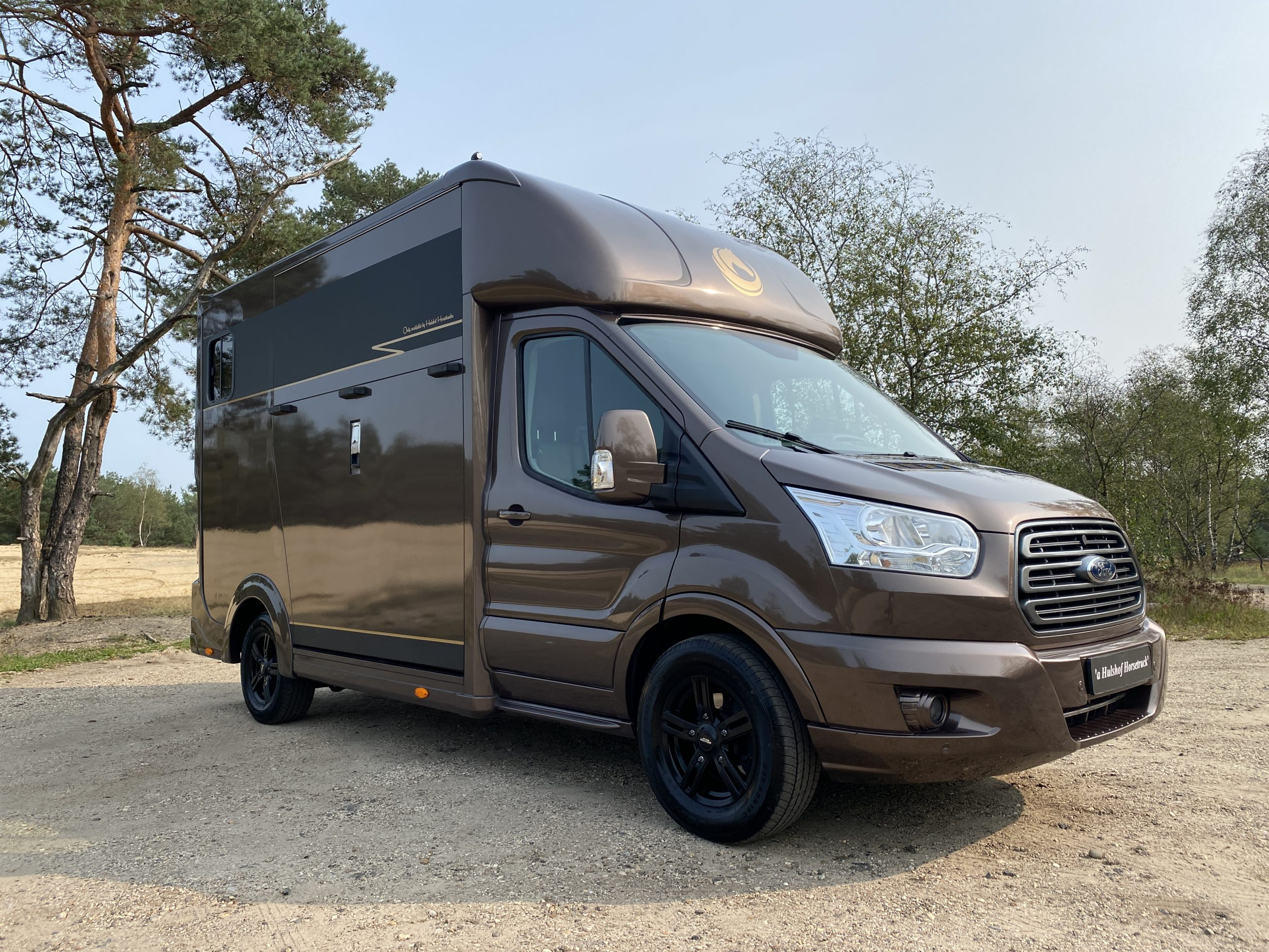 Ford Transit paardenvrachtwagen